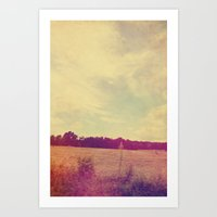 country Art Prints featuring COUNTRY by Allyson Johnson