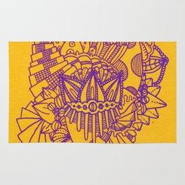 Purple/Yellow Rug