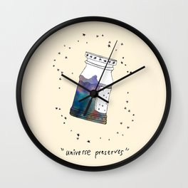 Universe Preserves Wall Clock