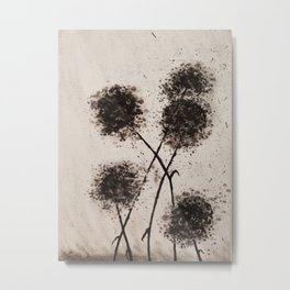 The Dark Flowers Of Discord Go To Seed Metal Print