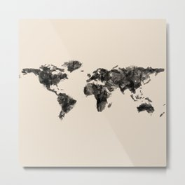 a painted world.  Metal Print