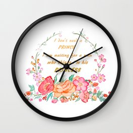 All I want is love Wall Clock