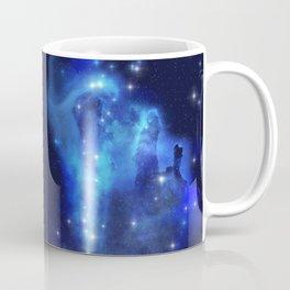 Blue Space Cloud Coffee Mug