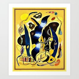 Abstract Composition by Fernand Léger Art Print