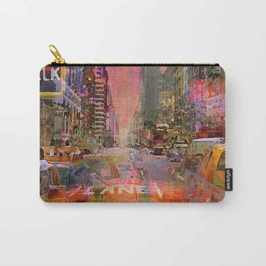 traffic jam pink Carry-All Pouch