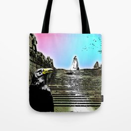 At the expense of reality Tote Bag