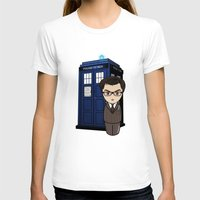 dr who T-shirts featuring Kokeshi Dr. Who by Pendientera