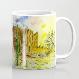 Good Morning Superstition Mountains Coffee Mug