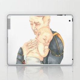#3: Shhhh, the baby is sleeping Laptop & iPad Skin