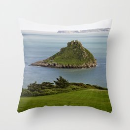 Thatcher Rock Throw Pillow