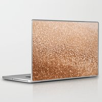 copper Laptop & iPad Skins featuring COPPER by Monika Strigel
