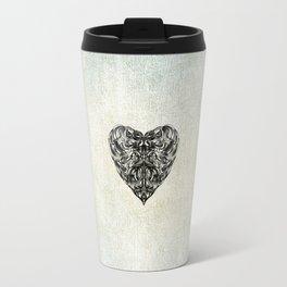 Transparent Heart Travel Mug