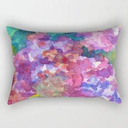 Bold Color Lilacs Rectangular Pillow