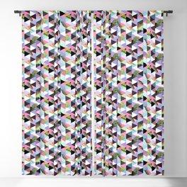 21s Century Memphis Style Pattern – Pastel Blackout Curtain