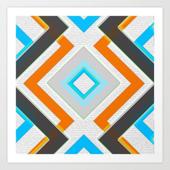 Gray blue orange and white small diamond textured minimal for Minimalist home goods