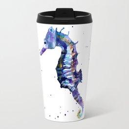 Seahorse Splendor Travel Mug