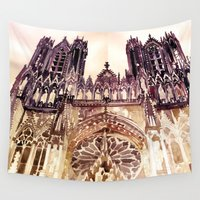 takmaj Wall Tapestries featuring Reims by takmaj