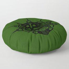 Ink Frog Grass Floor Pillow