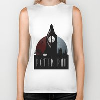 peter pan Biker Tanks featuring Peter Pan by Rowan Stocks-Moore
