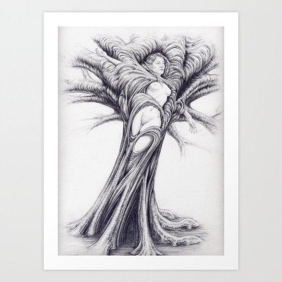 Driade 2 Art Print