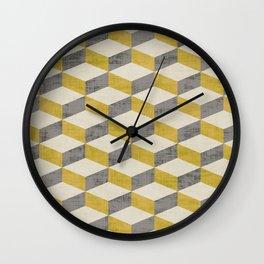 PETRA SUGAR GOLD Wall Clock