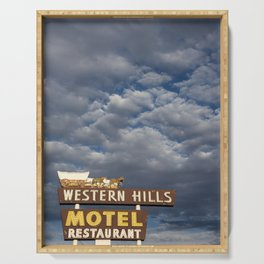 Western Hills Serving Tray