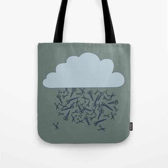IT'S RAINING BLADES Tote Bag