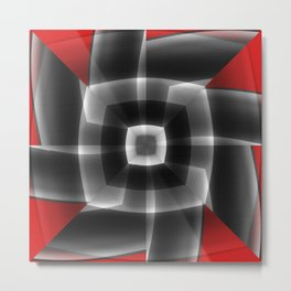 Whirling Metal Print