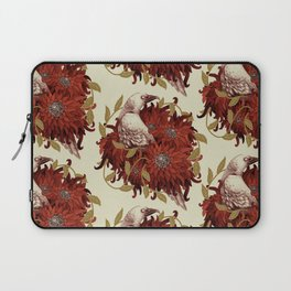 Bird and Flowers Laptop Sleeve