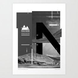 Peak Noise 2 Art Print