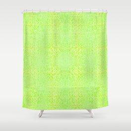 Brian's Bubbliscious Pattern (Lemon Lime Fizz) Shower Curtain