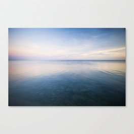 oh, Sea, how I love thee Canvas Print