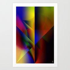 Spectrum Shield Art Print
