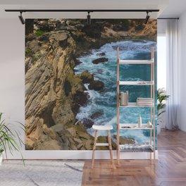 Relentless Tropical Paradise: Hawaiian Beach Cove Wall Mural