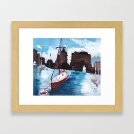 Boston Waters Framed Art Print