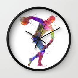 Discobolus Wall Clock