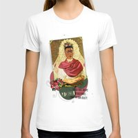 frida kahlo T-shirts featuring Frida Kahlo by Selman HOŞGÖR