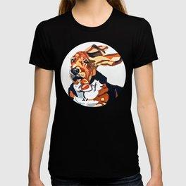 Basset Hound Flying Ears Portrait T-shirt