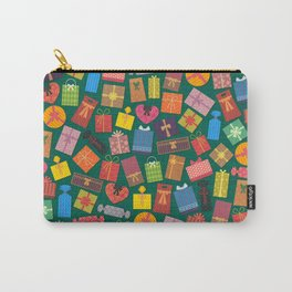 Fun Gift Box pattern Carry-All Pouch