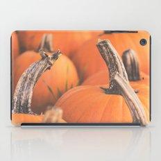 pumpkin season. iPad Case