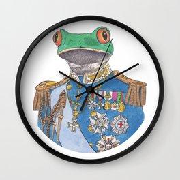 Illustrious Frog Wall Clock