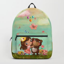 Beauty and the Bear Backpack
