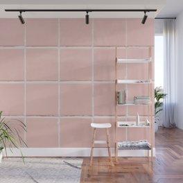 Pink Wall Wall Mural