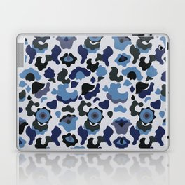 Blue khaki Laptop & iPad Skin