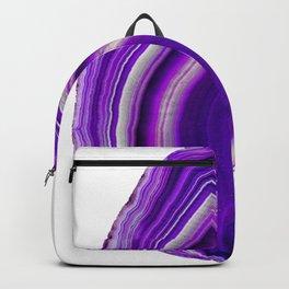 Flame purple agate Backpack