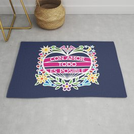 Con Amor Todo Es Posible - With Love Everything Is Possible (BMC) Rug