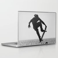 skateboard Laptop & iPad Skins featuring Skateboard Freedom by Scotty Photography