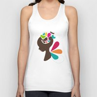 child Tank Tops featuring Child by Irmak Akcadogan