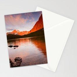 Swiftcurrent Lake, Glacier National Park Stationery Cards