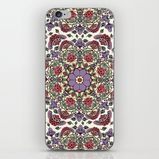Deco Floral iPhone & iPod Skin